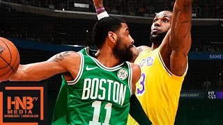 Los Angeles Lakers vs Boston Celtics Full Game Highlights | March 9, 2018-19 NBA Season