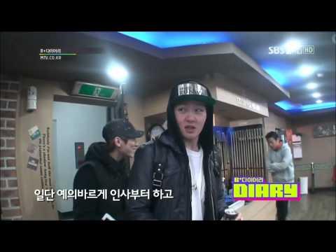 HD (ENG)121225 BTOB B+ Diary Ep 4 Part(1/4) (видео)