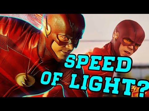 How Fast Is The Flash In Season 4? (Grant Gustin)