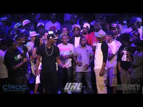 SMACK/ URL PRESENTS HITMAN HOLLA VS JOHN JOHN DA DON
