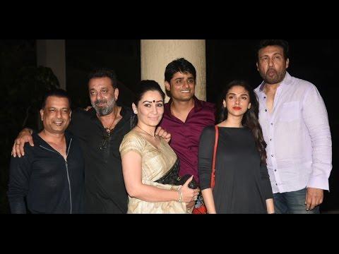 Aditi Rao Hydari at celebration of the film Bhoomi