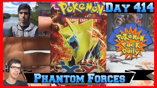 Pokemon Pack Daily XY Phantom Forces Booster Opening Day 414 - Featuring Brodie-Amity TCG by ThePokeCapital
