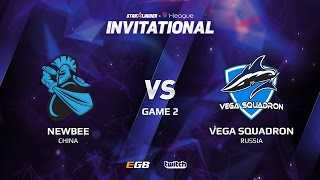 Newbee vs Vega Squadron, Game 2, SL i-League Invitational S2 LAN-Final, Group B