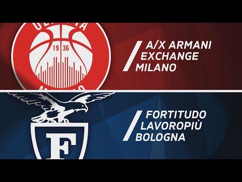 Serie A 2020-21: Olimpia Milano-Fortitudo Bologna, gli highlights