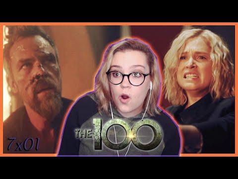 "The 100 Season 7 Episode 1 ""From the Ashes"" REACTION! (Season Premiere)"