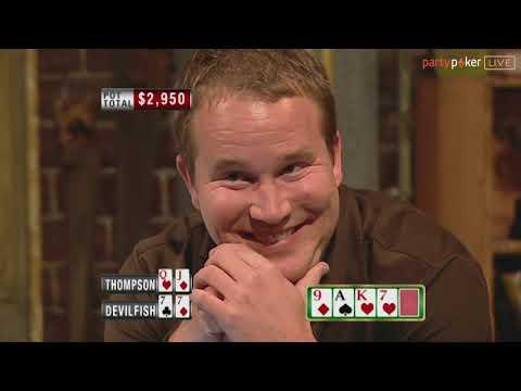 Kasey Thompson vs. The Devilfish | Poker Legends | The Big Game