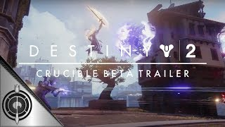 Bungie has dropped another Destiny 2 trailer, this time for the Crucible! Test your might in multiplayer as we explore new maps, weapon mechanics & modes as Lord Shaxx prepares us for war!