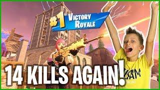 Video Tilted Landing 14 Kills Victory Royale! MP3, 3GP, MP4, WEBM, AVI, FLV Februari 2019