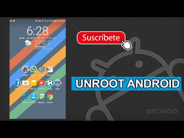 Unroot Android para Jugar Pokemon Go