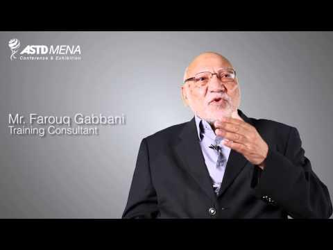 ASTD MENA 2013 - Mr. Farouq Gabbani