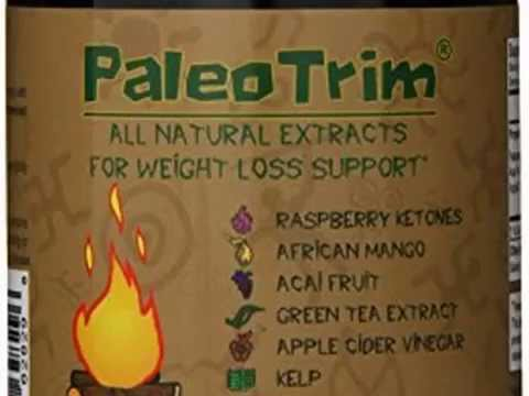 New PaleoTrim All Natural Weight Loss Pills w/ Raspberry Ketones, African Mango, Aca Top List