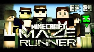 """Minecraft MAZE RUNNER - """"FREEDOM"""" #23 (Minecraft Roleplay)"""