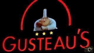 Gusteau's in queue Ratatouille the Ride @ Walt Disney Studio's 2014