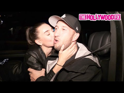 Big Mike Majlak & Lana Rhoades Make Out In The Car While Leaving A Dinner Date At BOA Steakhouse