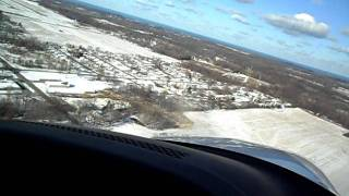Landing At Benton Harbor KBEH Cirrus SR-20