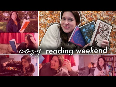 Cosy reading weekend 📚 feat. three books about books | Drinking By My Shelf
