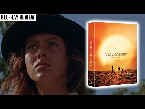 WALKABOUT Limited Edition Blu Ray Review | Second Sight Films