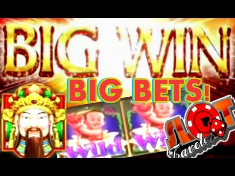 ** BIG WINS ** Heavenly Lotus Flower Slot Machine Riches! - SlotTraveler
