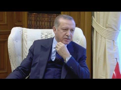 Στο Μέγαρο Μαξίμου ο Πρόεδρος της Τουρκίας Ρετζέπ Ταγίπ Ερντογάν