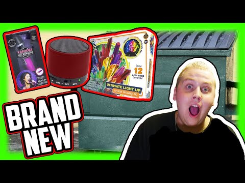 We Found BRAND NEW STUFF! Five Below Dumpster Diving Jackpot!