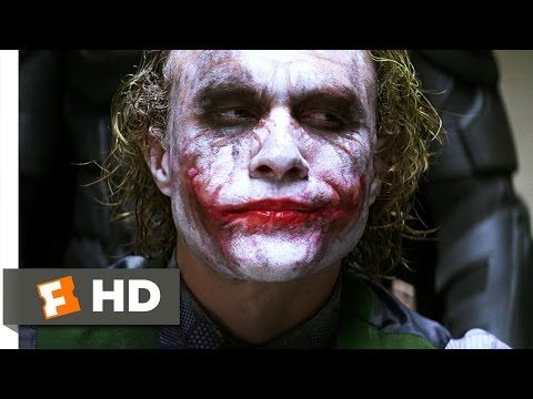movieclips - The Dark Knight Movie Clip - watch all clips http://j.mp/wPPGeL Buy Movie: http://j.mp/uTgXyQ click to subscribe http://j.mp/sNDUs5 Under interrogation, The ...