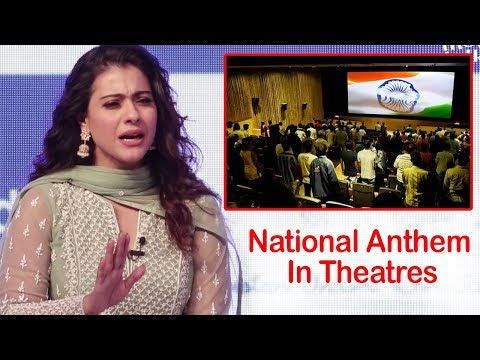 Kajol's Angry Reaction On National Anthem in Movie