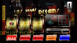 las vegas dreams slotmachine YouTube video