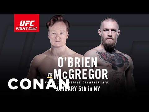 Conan Becomes Part Owner of UFC and WIll Fight in 2017