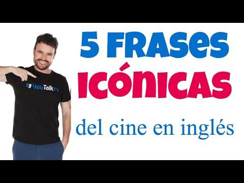 Frases celebres - Frases de películas en inglés / Frases icónicas de películas inglés /2018