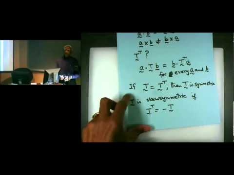 Introduction to Continuum Mechanics Lecture #5