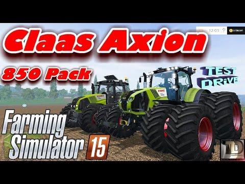 Class Axion 850 v3.0