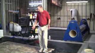 How To Clean An Oriental Rug - Part 1: Soil Extraction&Washing