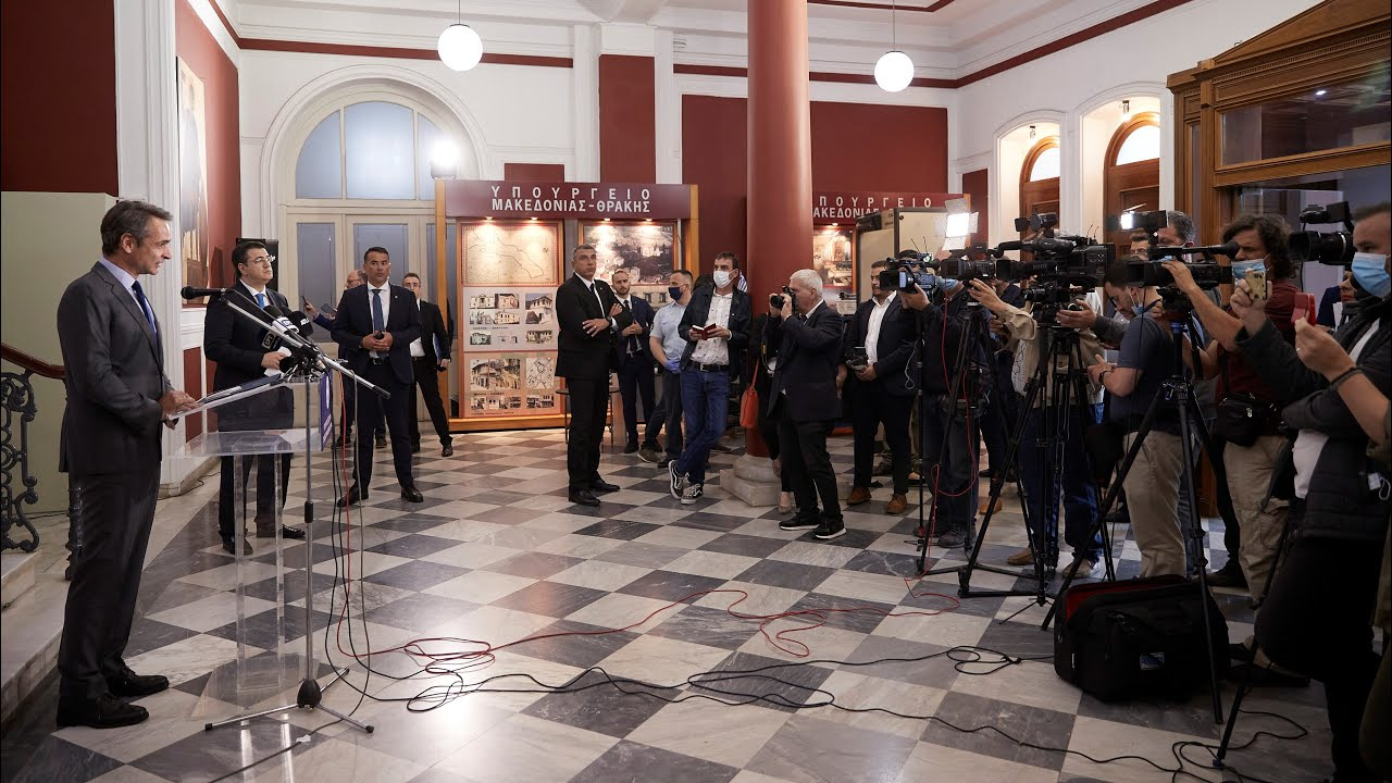 Δήλωση Κυριάκου Μητσοτάκη μετά τις συναντήσεις του με εκπροσώπους φορέων της Θεσσαλονίκης