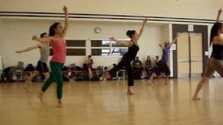 Martha Grahm Technique - CCSF Basic Modern Dance