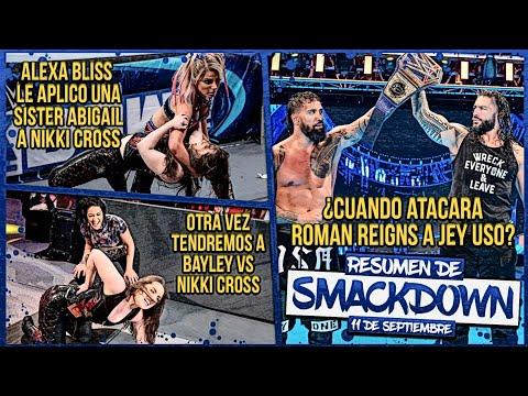 Alexa Bliss atacó con una Sister Abigail a Nikki Cross