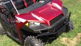 4. 2013 Polaris Ranger XP 900 LE In Sunset Red At Tommy's MotorSports