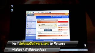View how Windows Anti-Malware Patch infects a computer