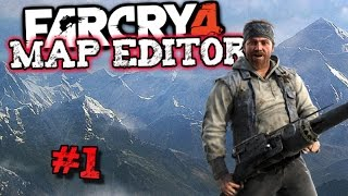 Far Cry 4: Map Editor Funny Moments #1! (Ultimate Battle Arena, and Flying Tuk Tuks!)