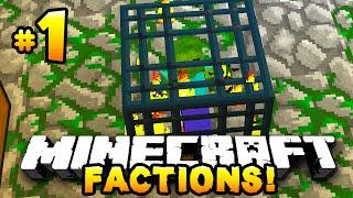 "Minecraft FACTIONS #1 ""ZOMBIE SPAWNER!"" - w/PrestonPlayz&MrWoofless"