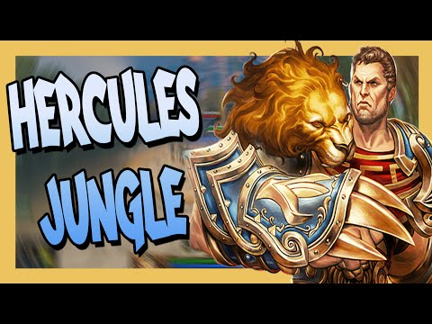 Smite: Hercules Jungle (Build) - Conquest - Fire Giant at 13 Mins...