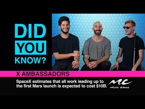 X Ambassadors Are Ladies Men: Did You Know?