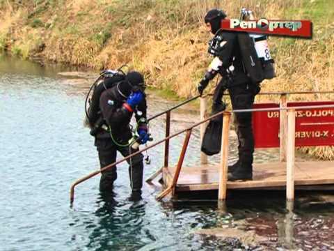 На дне Голубого озера в Сергиевском районе обнаружили подводную пещеру