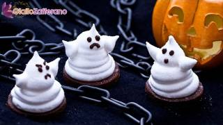 Marshmallow ghosts - Halloween recipe