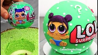LOL Surprise Cake - How To Make by Cakes StepbyStep