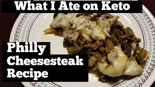 Philly Cheesesteak Recipe & What I Ate on Keto | Day 16 #ek90day