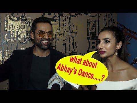 Abhay Deol Dances Really Well says Patralekha Paul