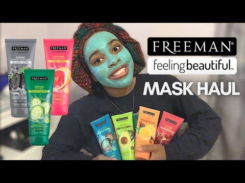 FACE MASK HAUL   Freeman Feeling Beautiful Review + Comparison (2020)
