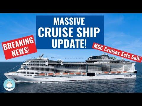 LATEST CRUISE SHIP NEWS UPDATES! CRUISING RESTARTS | NEW HEALTH PROTOCOLS ANNOUNCED!