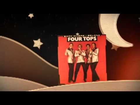 Tekst piosenki The Four Tops - Away in a Manger po polsku