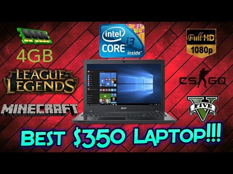 , title : 'Best $350 Laptop - Acer Aspire E15 - Intel 7th Gen - 1080p -Unboxing & First Impressions'